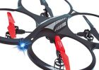 Two analogue sticks can be used to control the mini-drone